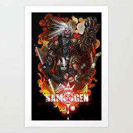 Join the Fight Art Print