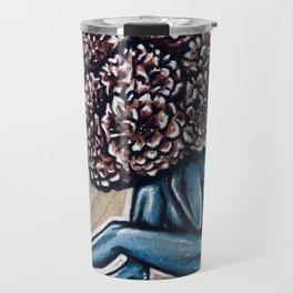 Flower for brains Travel Mug