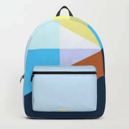 Retro Abstract Shapes Backpack