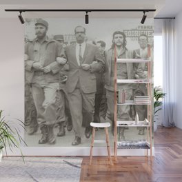 Che Guevara, Fidel Castro and Revolutionaries Wall Mural
