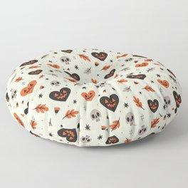 I Heart Fall Pattern Floor Pillow