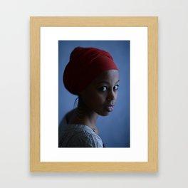 Fatin Framed Art Print