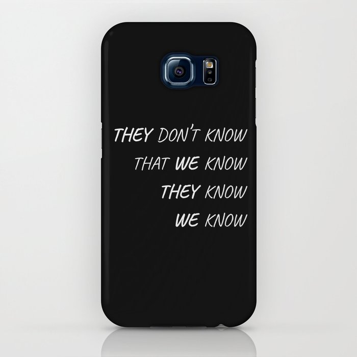 the one where everybody knows iphone case