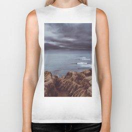 Sunset Cliffs Storm Biker Tank