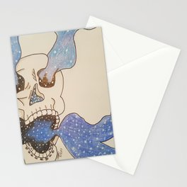 Dead silent Stationery Cards