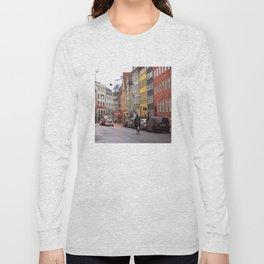 Copenhagen street 4 Long Sleeve T-shirt