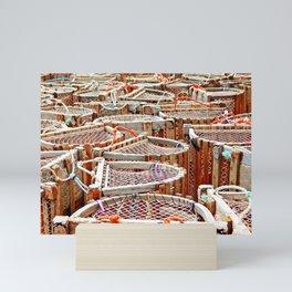Traditional Lobster Traps Mini Art Print