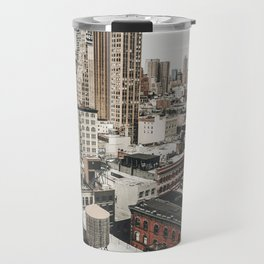New York City View Travel Mug