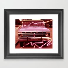 Pickup Framed Art Print