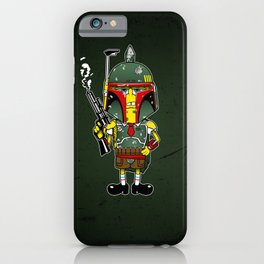 SpongeBoba Fett - Star Wars Spongebob mashup iPhone Case