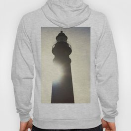 Morning Sun Behind the Ponce De Leon Lighthouse Hoody