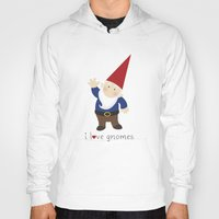 gnome Hoodies featuring Gnome Love by Ink Tree Press by Erin Rippy