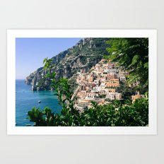 Positano You're Gorgeous Art Print