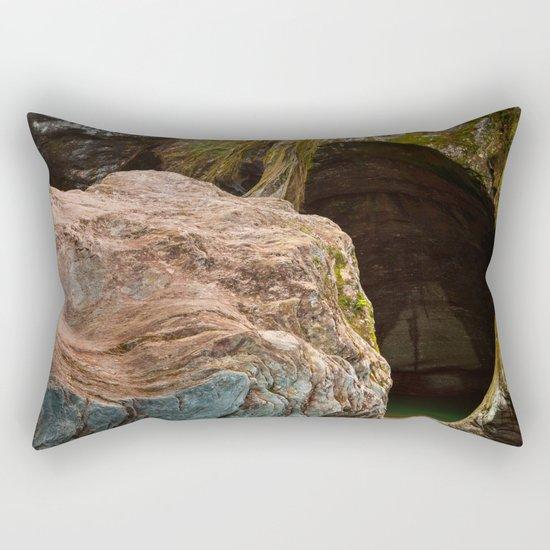Gobble Rock Cave Rectangular Pillow