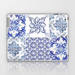 Azulejo VIII - Portuguese hand painted tiles Laptop & iPad Skin