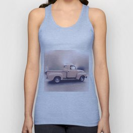 Classic Vintage Pickup Unisex Tank Top