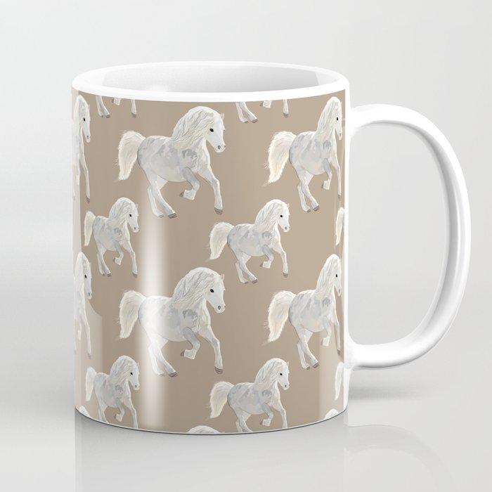 Horse Design Coffee Mug