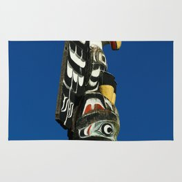 A Colorful Totem Rug