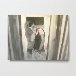 the weird kiss Metal Print