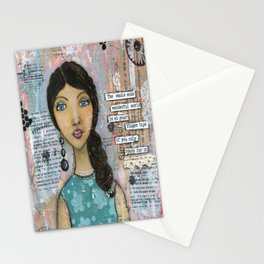 The World at your Finger Tips Stationery Cards