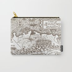 Map of Bohemia Carry-All Pouch