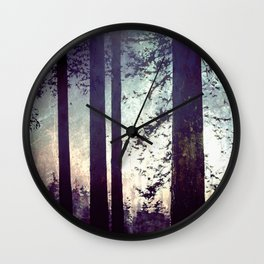 Fantastic Forest - Nature Photography Wall Clock