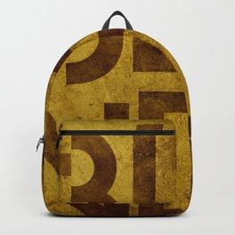 Blonde Beer Typography Backpack