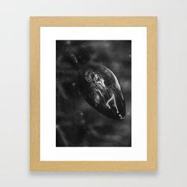 Fairy light Framed Art Print
