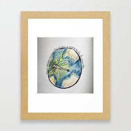 On a morning such as this Framed Art Print