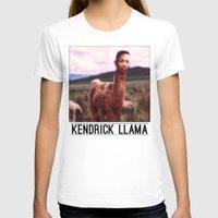 kendrick lamar T-shirts featuring Kendrick Llama by Creatmaker