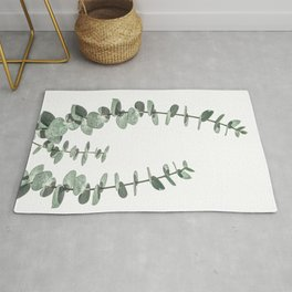 Eucalyptus Leaves Rug