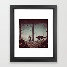 Wolf Parade Framed Art Print
