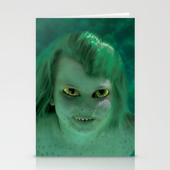 Young Jenny Greenteeth Stationery Cards