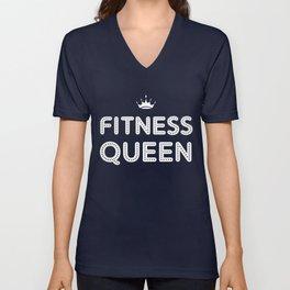 Fitness Queen Unisex V-Neck
