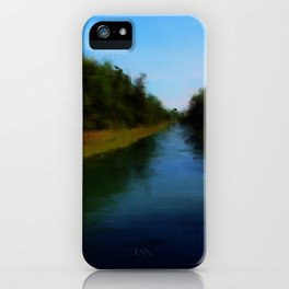 Carrying Place, Hancock Maine iPhone Case