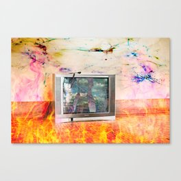 Our World is Burning Canvas Print