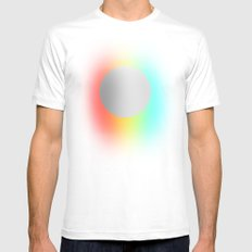 Subtle 1 White MEDIUM Mens Fitted Tee