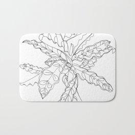 PLANT PORTRAITS - CALATHEA LANCIFOLIA - COOPER  AND COLLEEN Bath Mat