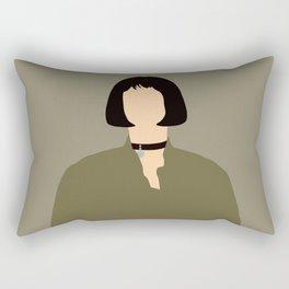 Mathilda Léon The Profesional 90s movie  Rectangular Pillow