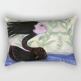 Yvonne Swan Rectangular Pillow