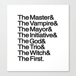 The Big Bads Canvas Print