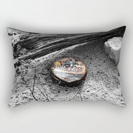 A Grizzly Ending Rectangular Pillow
