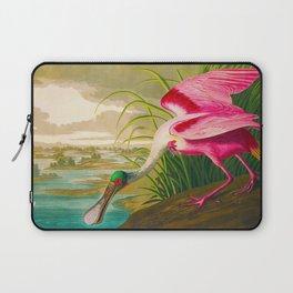 Roseate Spoonbill Bird pink Laptop Sleeve
