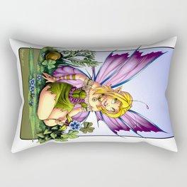 Clover Fairy Rectangular Pillow