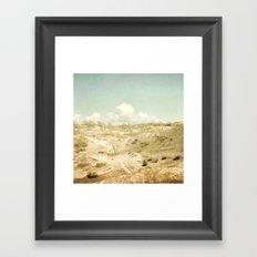 The Beginning Sleeping Bear Sand Dunes Framed Art Print