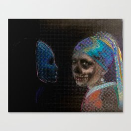 The Girl With the Pearl Earring Canvas Print