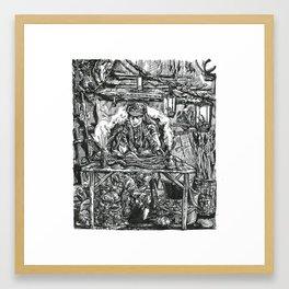 Inktober 2018: Expensive Framed Art Print