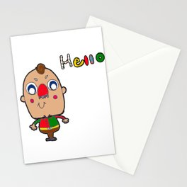 Strawberry Norse Man Stationery Cards