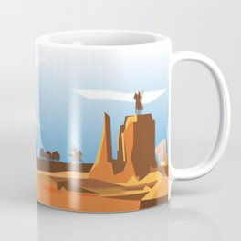 Land Of The American Natives No. 3 Coffee Mug