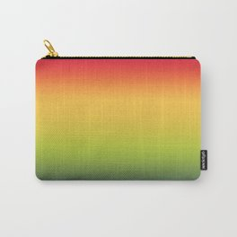 Abstract Colorful Tropical Blurred Gradient Carry-All Pouch